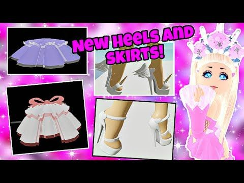 Reworked Skirt Heels New Set Skirt Heels And More On Royale High Rh Concepts Roblox Youtube Roblox Roblox Pictures New Set