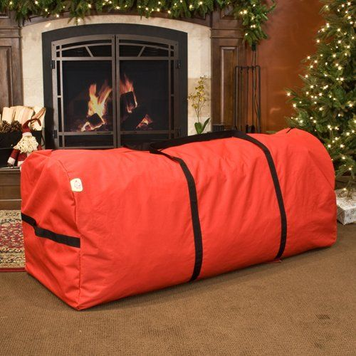 Santa S Extra Large Tree Storage Bag For 6 9 Trees Tree Storage Bag Christmas Tree Storage Christmas Tree Storage Bag