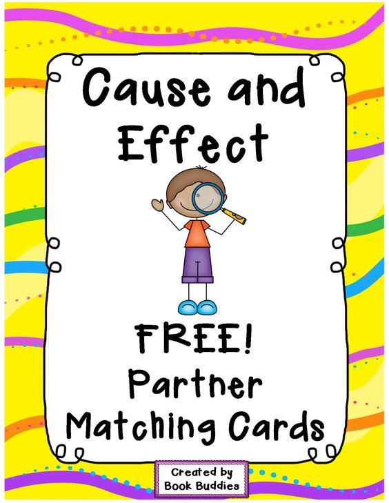 Cause And Effect Picture Cards Printable | galleryhip.com - The ...