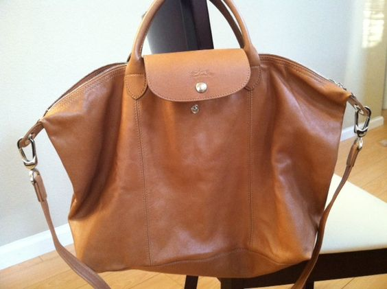 Fashion Cheap Portable Longchamp 1948 Classic Bags Brown