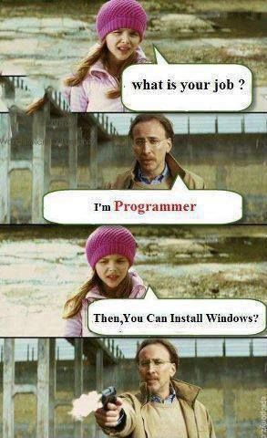 I'm programmer