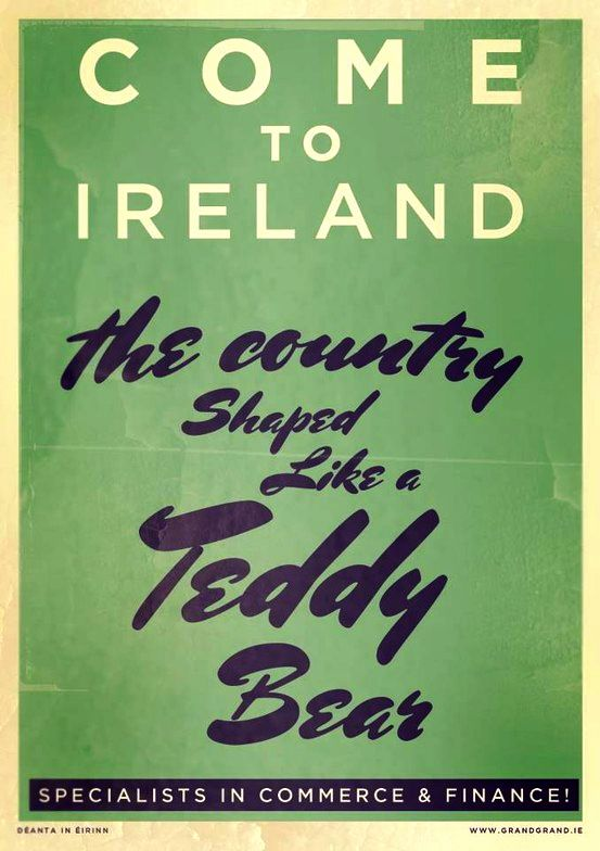irish tourism poster