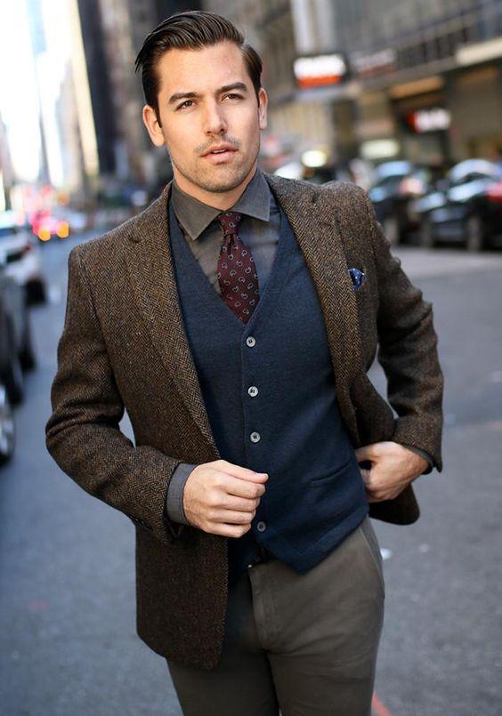 outfits de vestir hombre