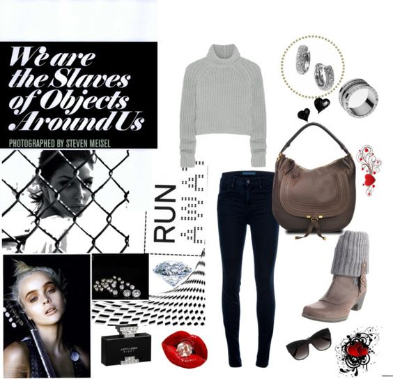 """""""SET #288. Run Away..."""" by annasousa-1 ❤ liked on Polyvore"""