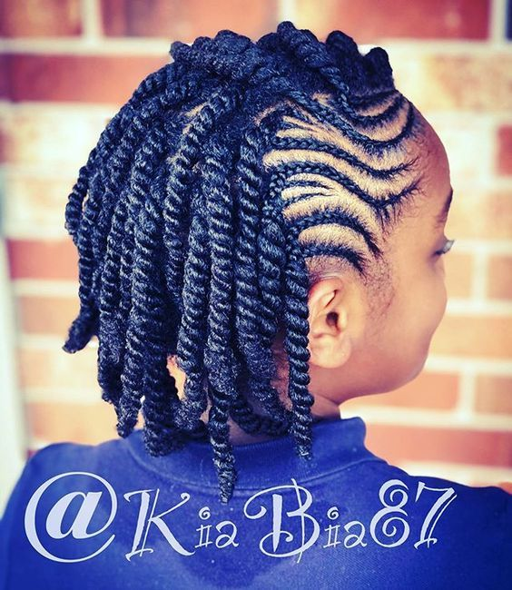 See More Medium Length Braid Hairstyles For Black Women To Long Protective Styles For Natural Hair In 2020 Natural Hair Braids Natural Hair Twists Natural Hair Styles