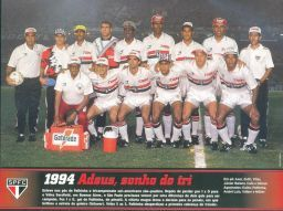 1994 - Fotos de Os Jogadores do Sao Paulo FC
