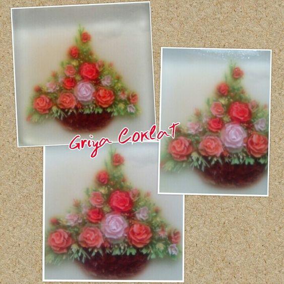 #jellyart #gelatinadecoradas #rose