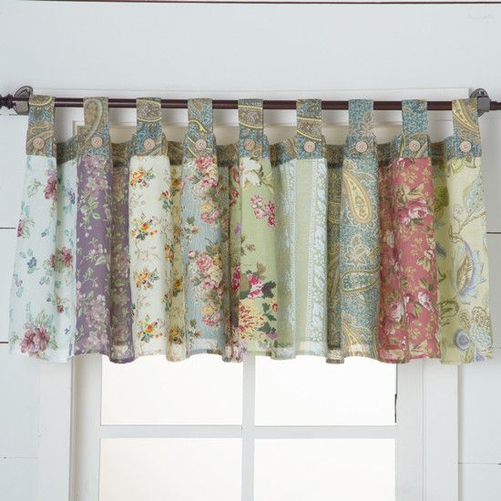 How To Make Rod Pocket Curtains Patchwork Curtains Quilted