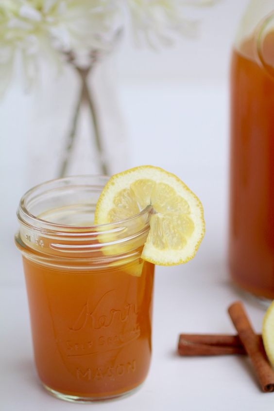 Lemon Honey And Cinnamon Drink