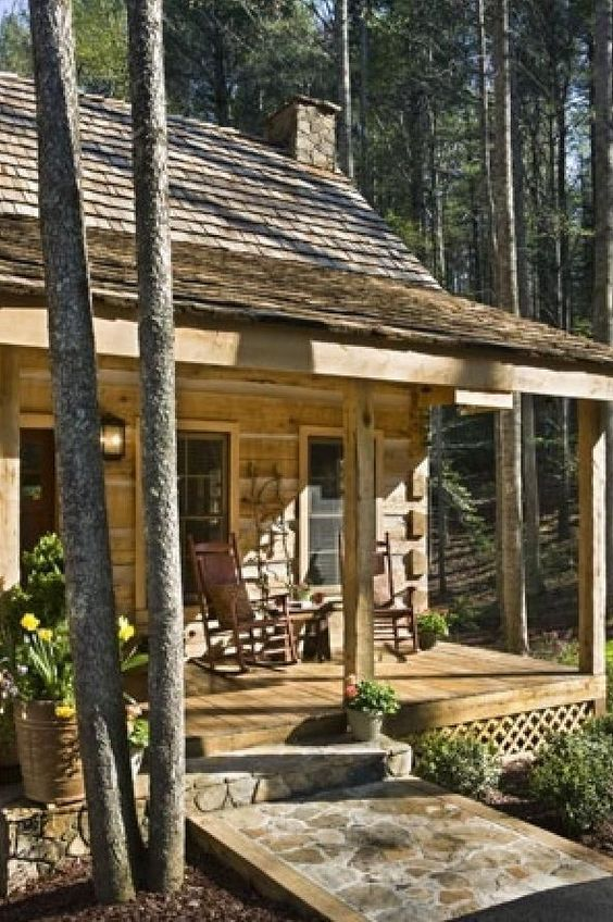 Build This Cozy Cabin Cozy Cabin Magazine Do It Yourself: Small Cabins, Cabin And Rental Homes On Pinterest
