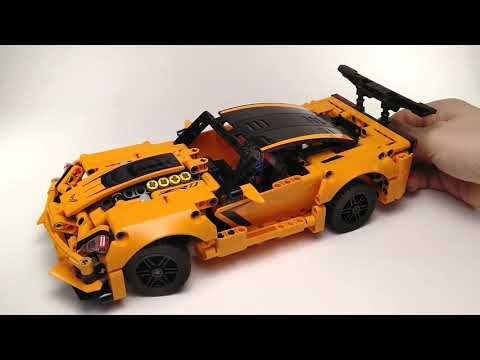 2019 Lego Technic 42093 Chevrolet Corvette Zr1 Quick Review Youtube