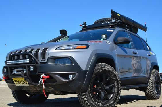 2014 2017 Jeep Cherokee Kl Lift Kits Accessories Jeep Cherokee