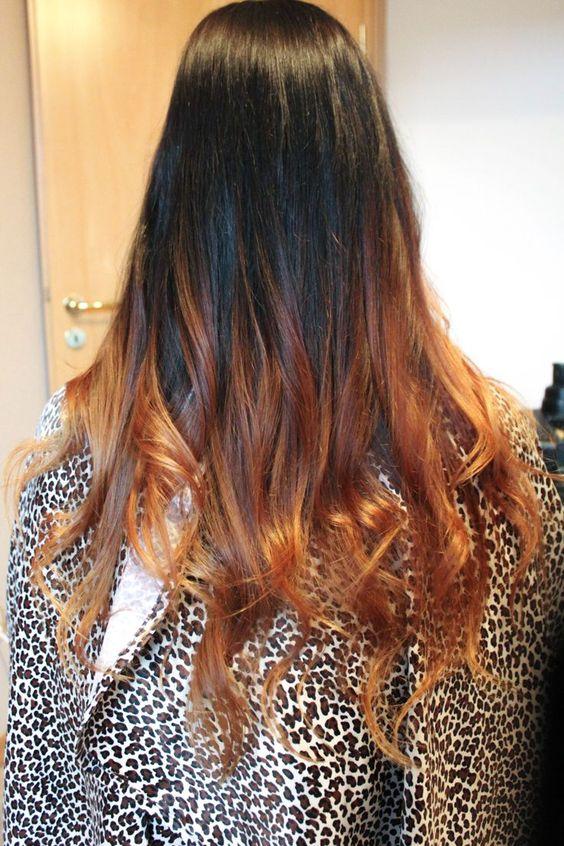 Tendencia: barrido de color en todo tipo de cabello   Decoración de Uñas - Manicura y Nail Art