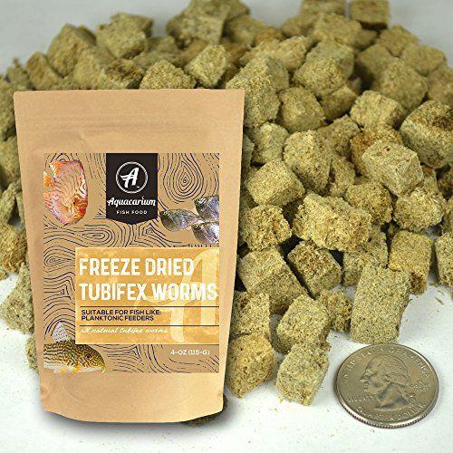 Tubifex Worms Freeze Dried Bulk Tropical Fish Food By Aquacarium Fish Recipes Food Organic Pet Food