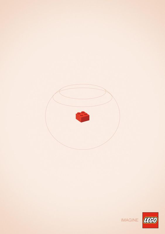 Lego. Imagine #Ads