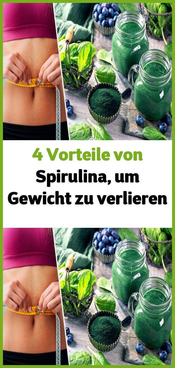 Was ist Spirulina, um Gewicht zu verlieren