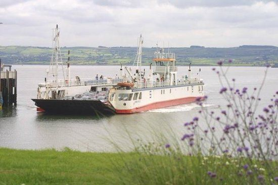 Shannon Ferry (County Kerry to County Clare, saves time driving through Limerick) - Kilrush, Ireland