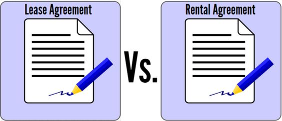 Lease or Rental Agreement Which One to Choose PropertyCluster - lease and rental agreement difference