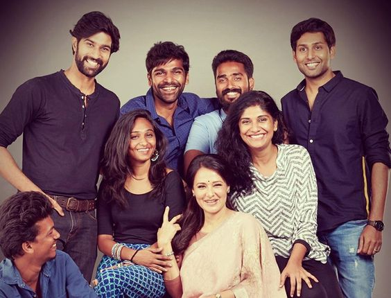 "Actor Krishna's maiden production of web series titled ""High Priestess"" featuring Amala Akkineni in lead"