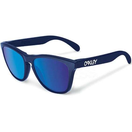 oakley frogskins lx sunglasses blue crystal red  oakley frogskin sunglasses matte blue sapphire iridium
