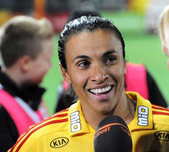 01. Marta Vieira – $400,000 Top 10 Highest Paid Female Soccer Players 2015:- http://www.sportyghost.com/top-10-highest-paid-female-soccer-players/ #soccer #football #uswnt