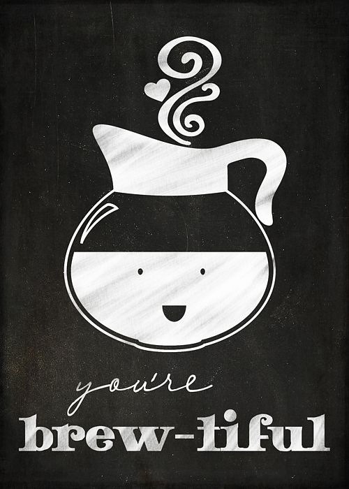 A card for the Coffee Lover