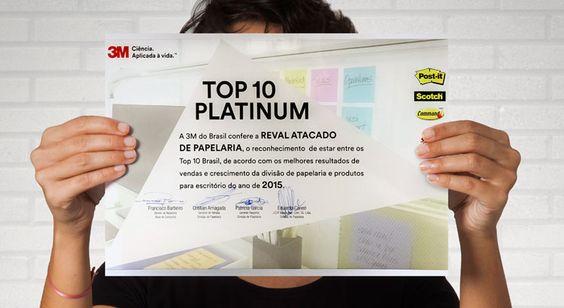 com os melhores resultados de vendas e crescimento da divisão de #papelaria e produtos para #escritório.