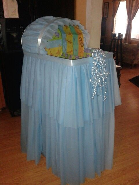 Amazing What You Can Do With Some Boxes And Plastic Table Cloths From The  Dollar Store Baby Shower Wishing Well | Baby | Pinterest | Plastic Table  Cloths, ...