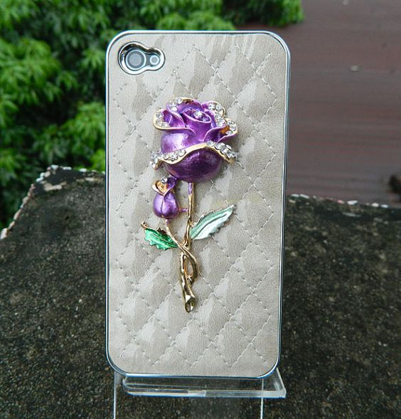iPhone case iPhone cover  rose gift  leather case  by dnnayding, $21.99