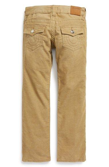 True Religion Brand Jeans 'Geno' Relaxed Slim Corduroy Pants ...