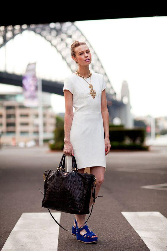 Sydney Fashion Week #streetstyle #sydyneyfashionweek #fashion #harpersbazaar #spring2012 #platformshoes