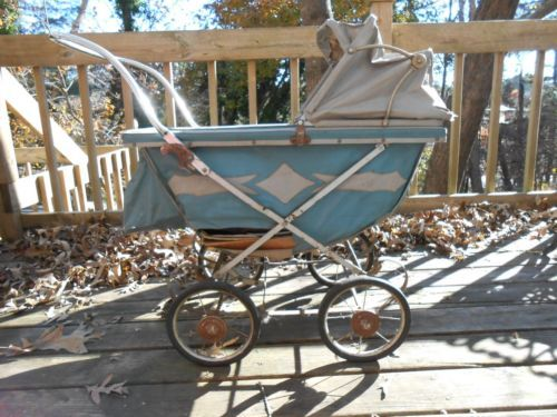 Vintage Baby Carriage Stroller 1940 S Collier Keyworth