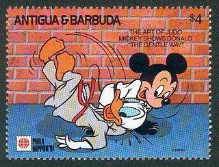 A stamp - how cool is that for kids' judo?!