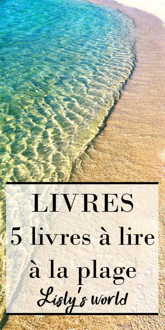 5 livres à lire à la plage