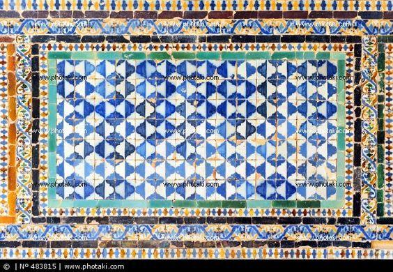 Zocalo de azulejos sevillanos arrimadero 483815 azulejos - Zocalos de azulejos ...