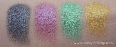 Dicas de maquiagens : ES 42 sombras / blushes brilho paleta