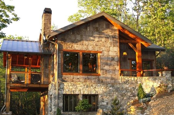 Asheville luxury cabin and cabin on pinterest for Asheville nc luxury cabin rentals