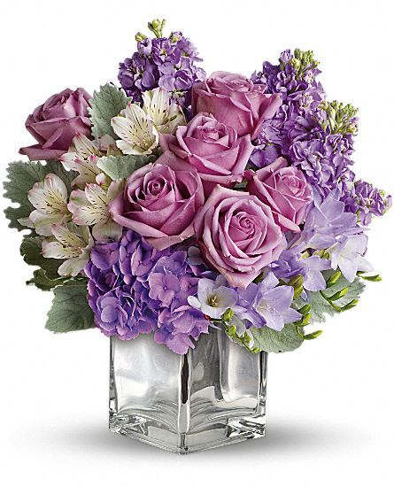 Sweet as Sugar by Teleflora Flowers, Sweet as Sugar by Teleflora Flower Bouquet - Teleflora.com