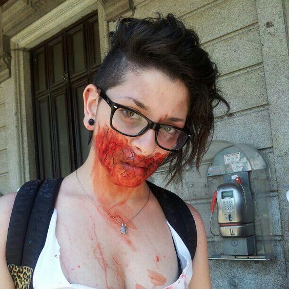 Zombie walk.
