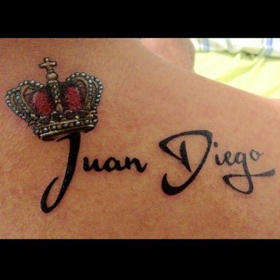 Tattoo corona y nombre tatuaje pinterest corona y - Tattoo chiffre ...