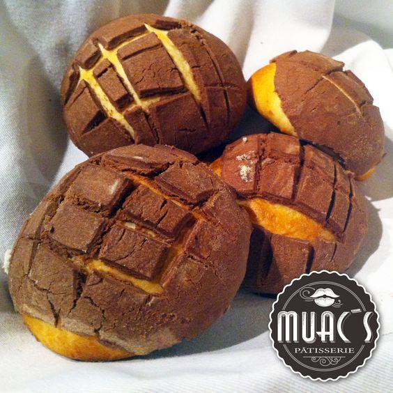 Muac´s Patisserie – Panadería mexicana – Conchas de chocolate. #muacspatisserie #patisserie #bakery #mexicansweetbread #boulangerie #conchas #chocolate