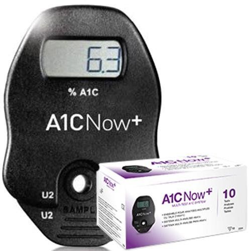 Test Bayer A1C Now hBa1C CLIA Waived 10 Count Bx
