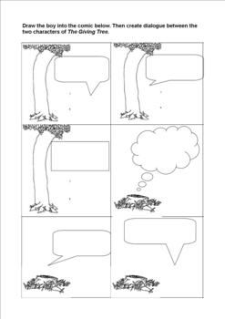 The Giving Tree Worksheet Packet | The Giving Tree, Trees and ...