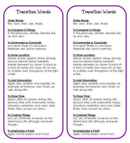 difficult transition essay Keep your ideas clear and logical with the right transition words for essays this list of 97 transitions helps you find the neglecting to use transition words entirely will result in writing that's disconnected and difficult to read and understand transition words are vital to.