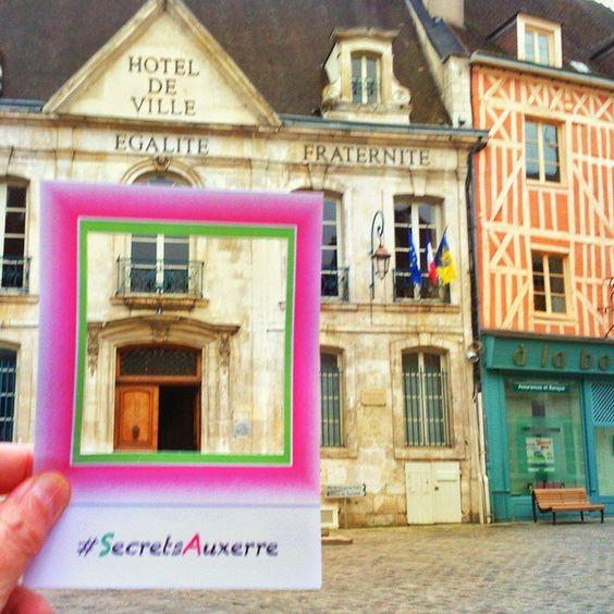 hôtel de ville #SecretsAuxerre