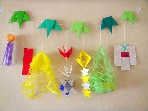 クリスマス 折り紙 折り紙 7月 : jp.pinterest.com