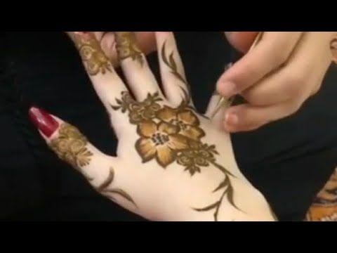 لمحبي الفن والابداع جديد نقش الحناء Henna Youtube Hand Henna Henna Hand Tattoo Henna