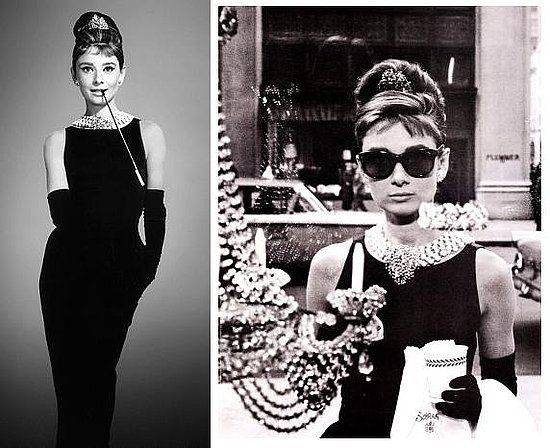 Audrey Hepburn made the little black dress famous in the movie ...