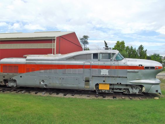 Rock Island Aero Train in sorry condition at the Museum of Transport, St. Louis, MO. Sept. 10, 2016 #MOT