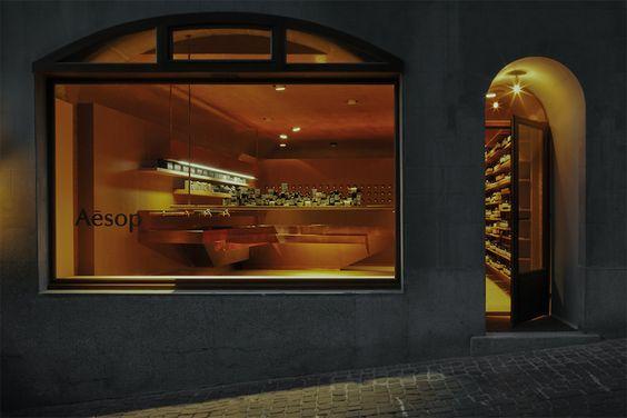 Aesop store by March Studio, Geneva » Retail Design Blog - via http://bit.ly/epinner